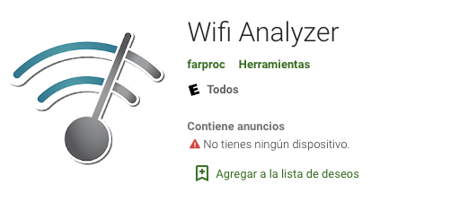 wifi analizer android