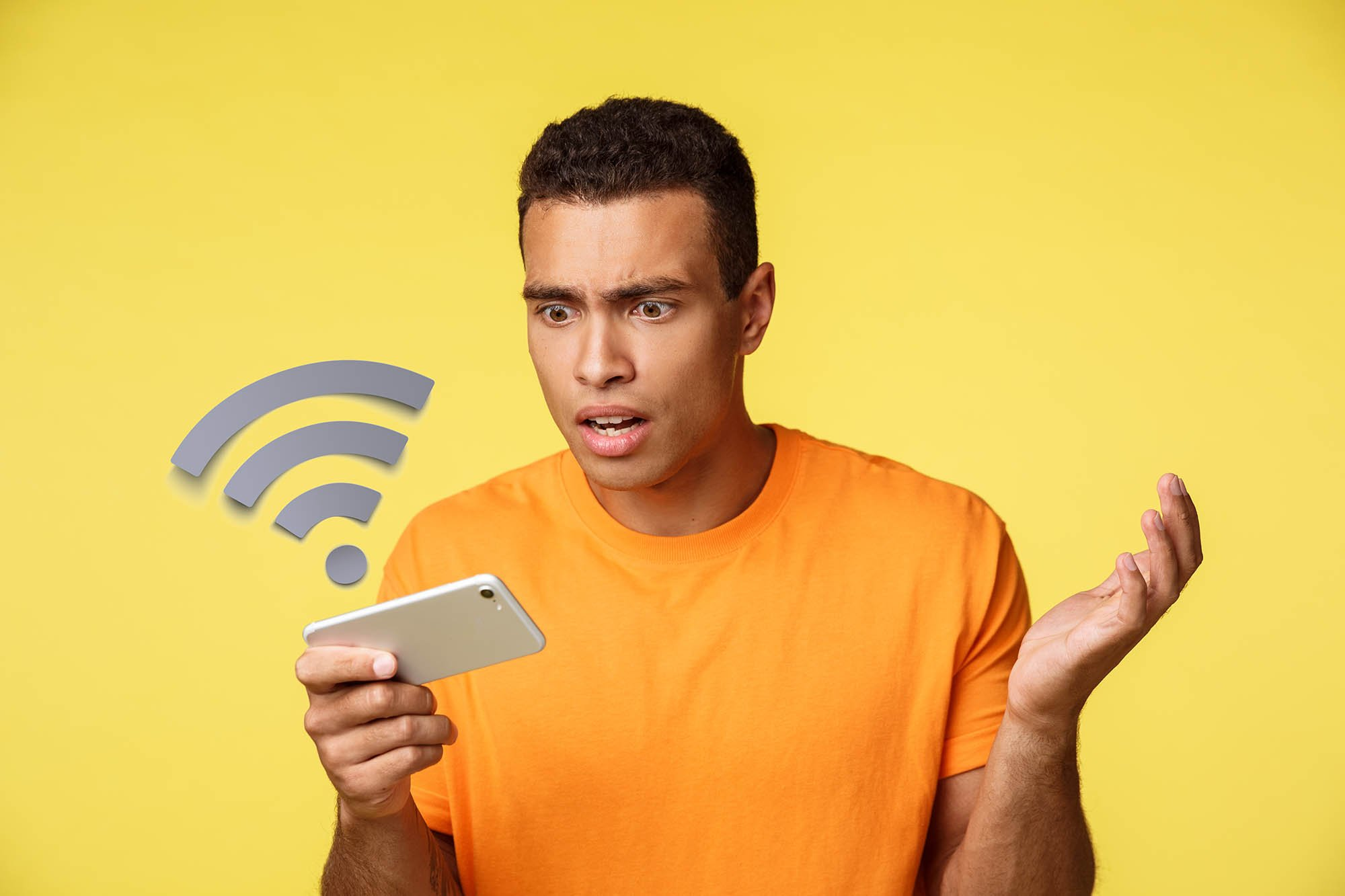 intensidad de la señal de wi fi