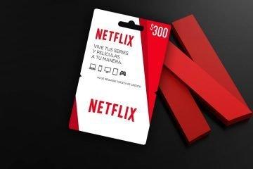 ¿Cuánto tiempo dura la tarjeta de netflix de 300?