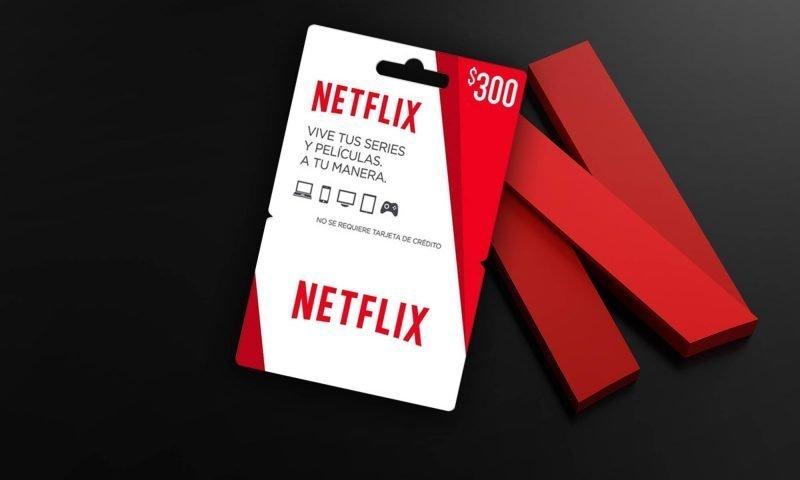 Cuánto tiempo dura la tarjeta de netflix de 300